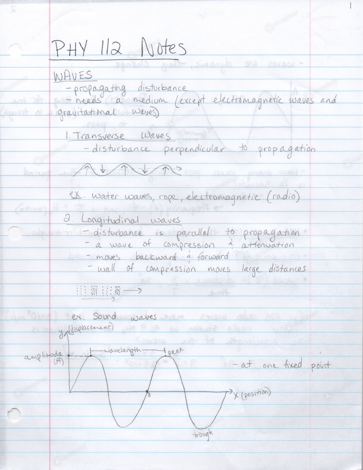 URI - PHY 112 - PHY 112 notes - Class Notes | StudySoup