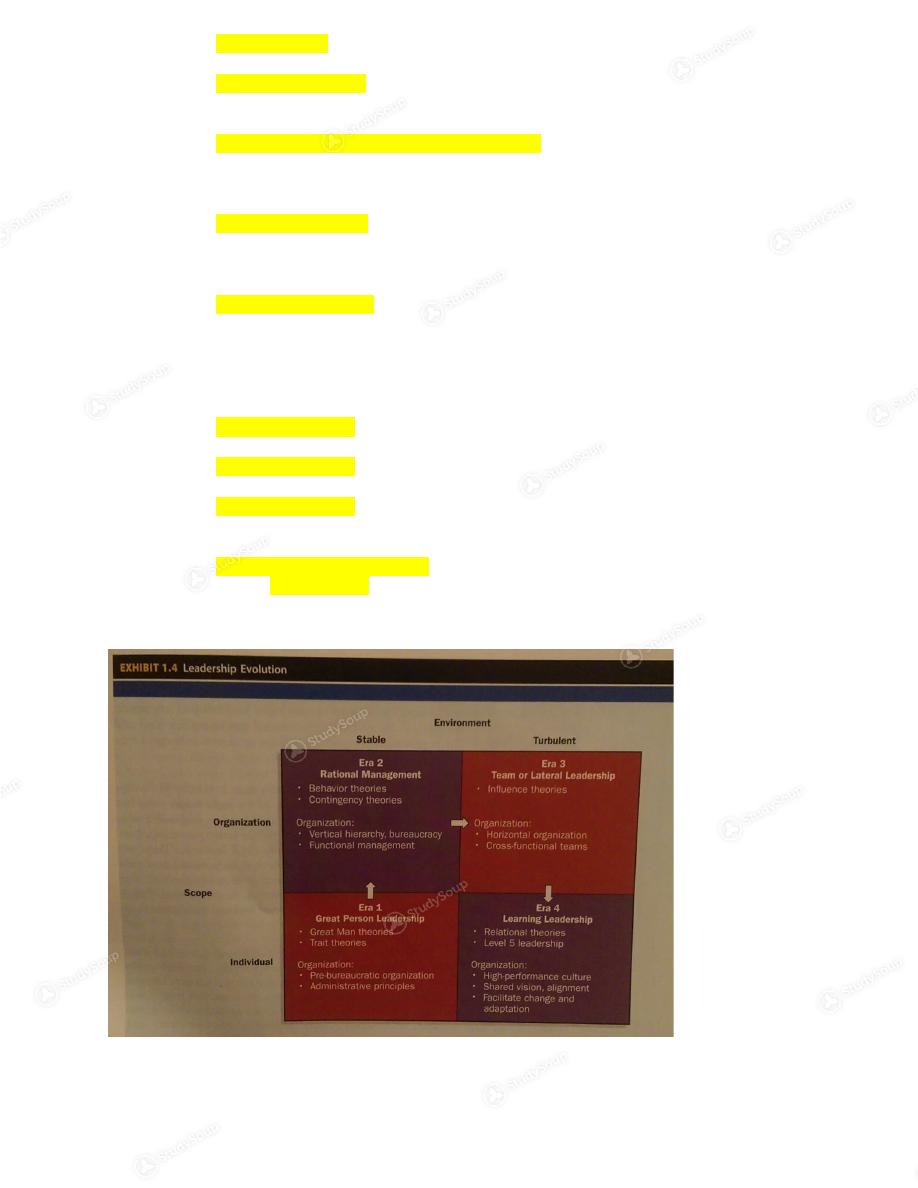 UTA - Bus 4325 - Study Guide | StudySoup