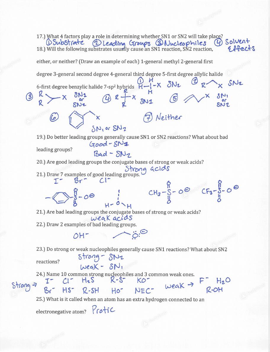 OU - CHEM 3053 - Spring 2016 - Organic Chemistry I