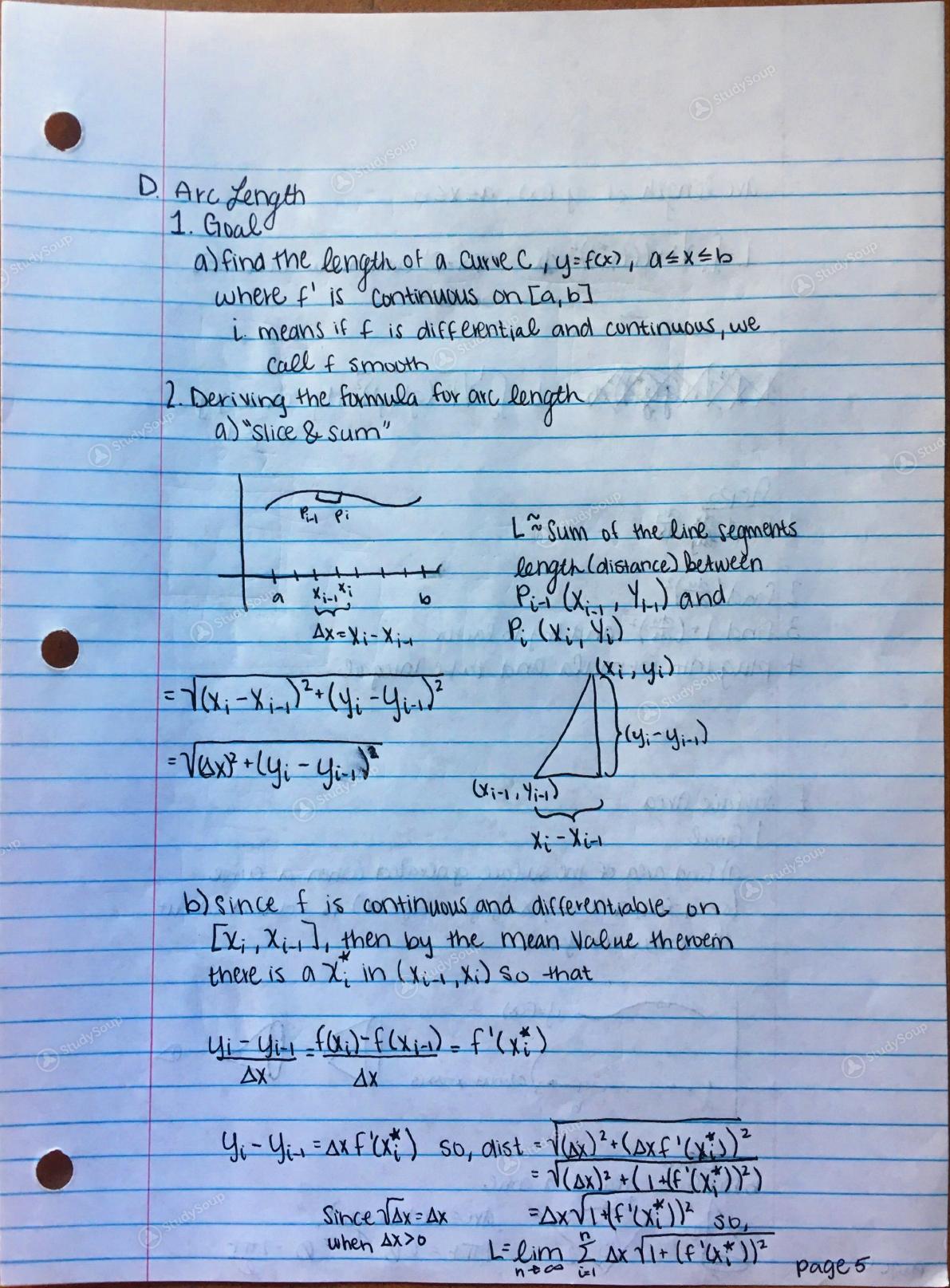Clemson - MATH 1080 - Study Guide - Final | StudySoup