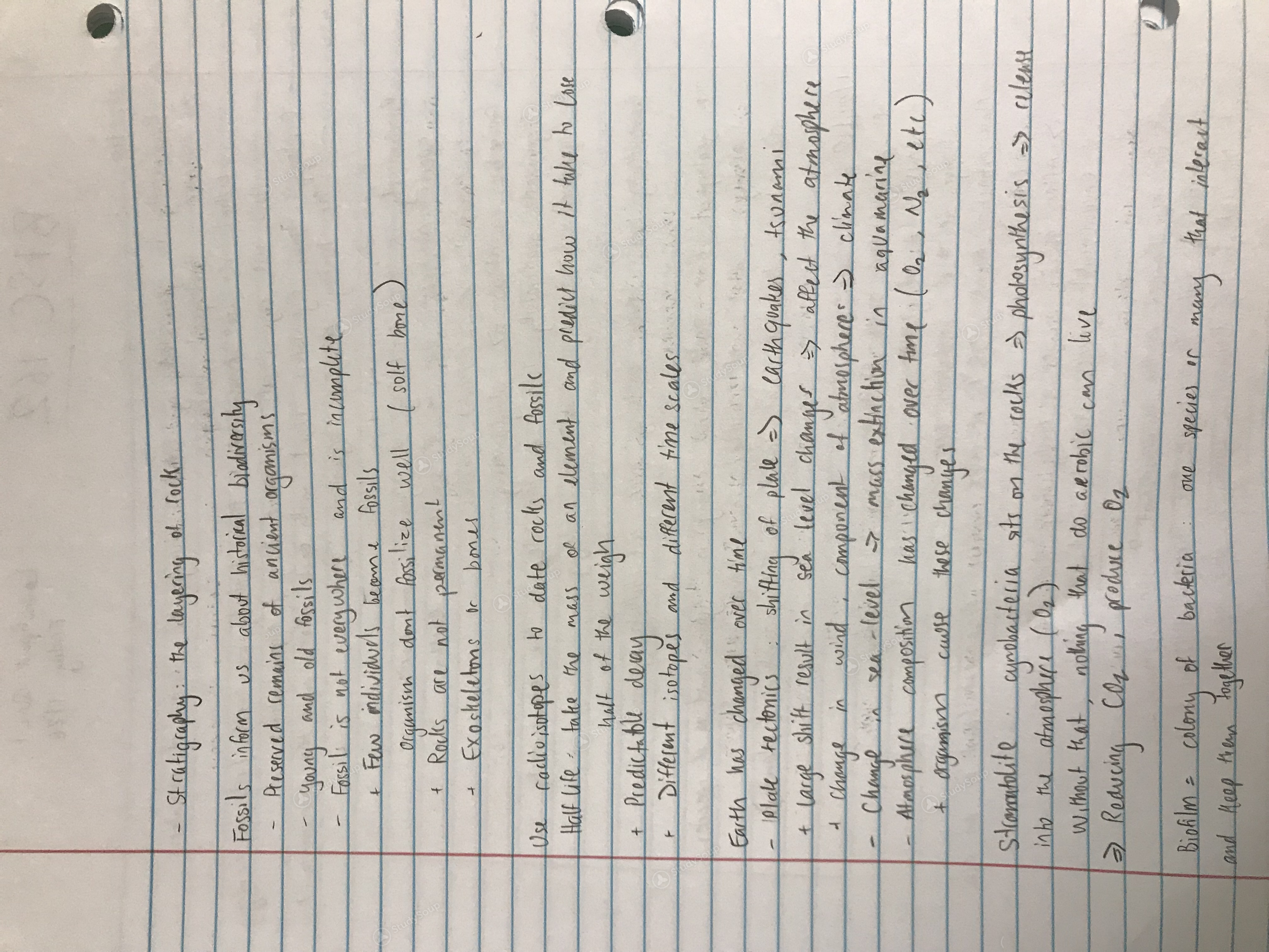 OleMiss - Bisc 162 - BISC 162, Week 1 - Class Notes | StudySoup