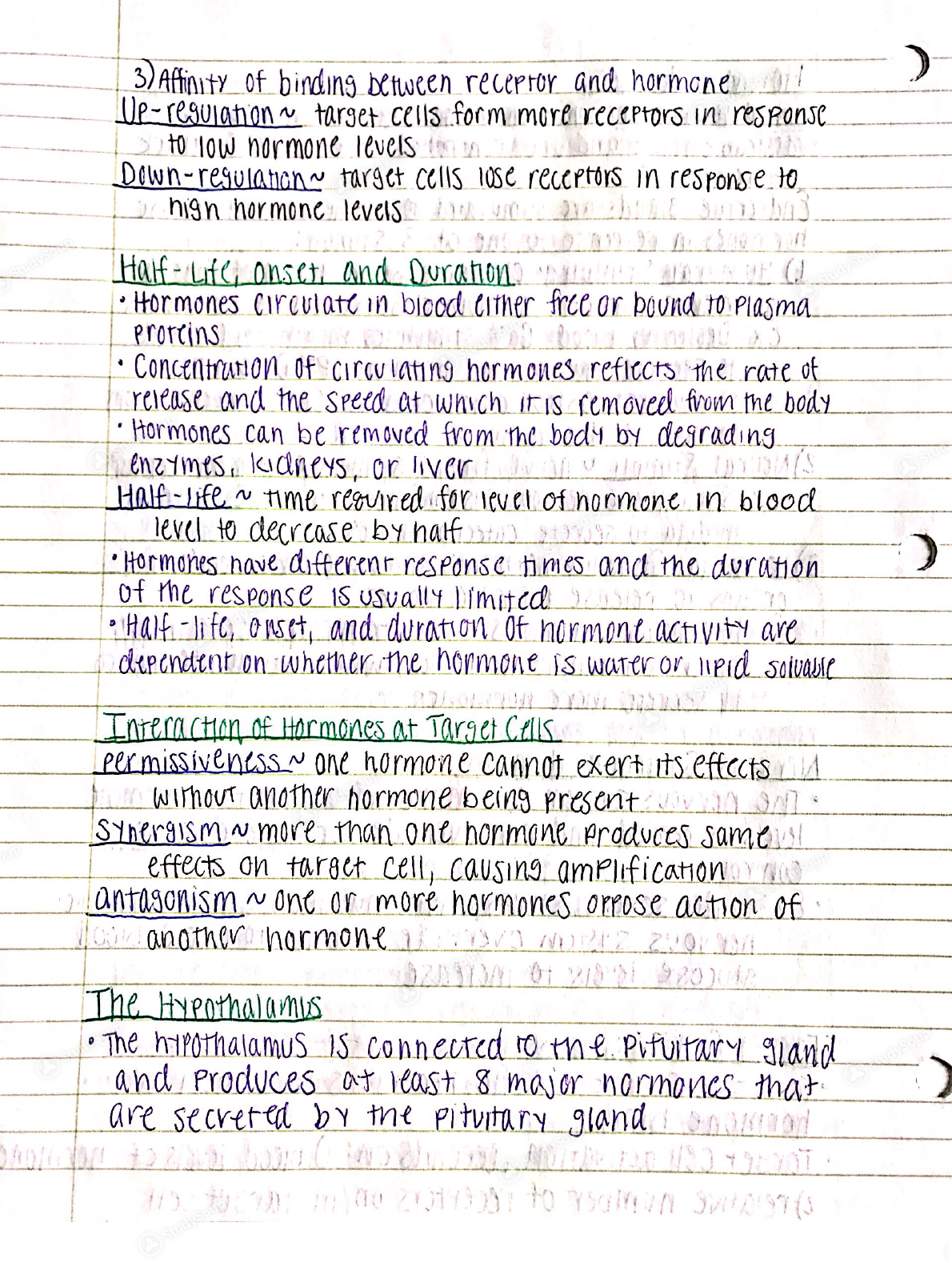 USC - BIOL 244 - Week 2 Notes Anatomy and Physiology - Class Notes ...