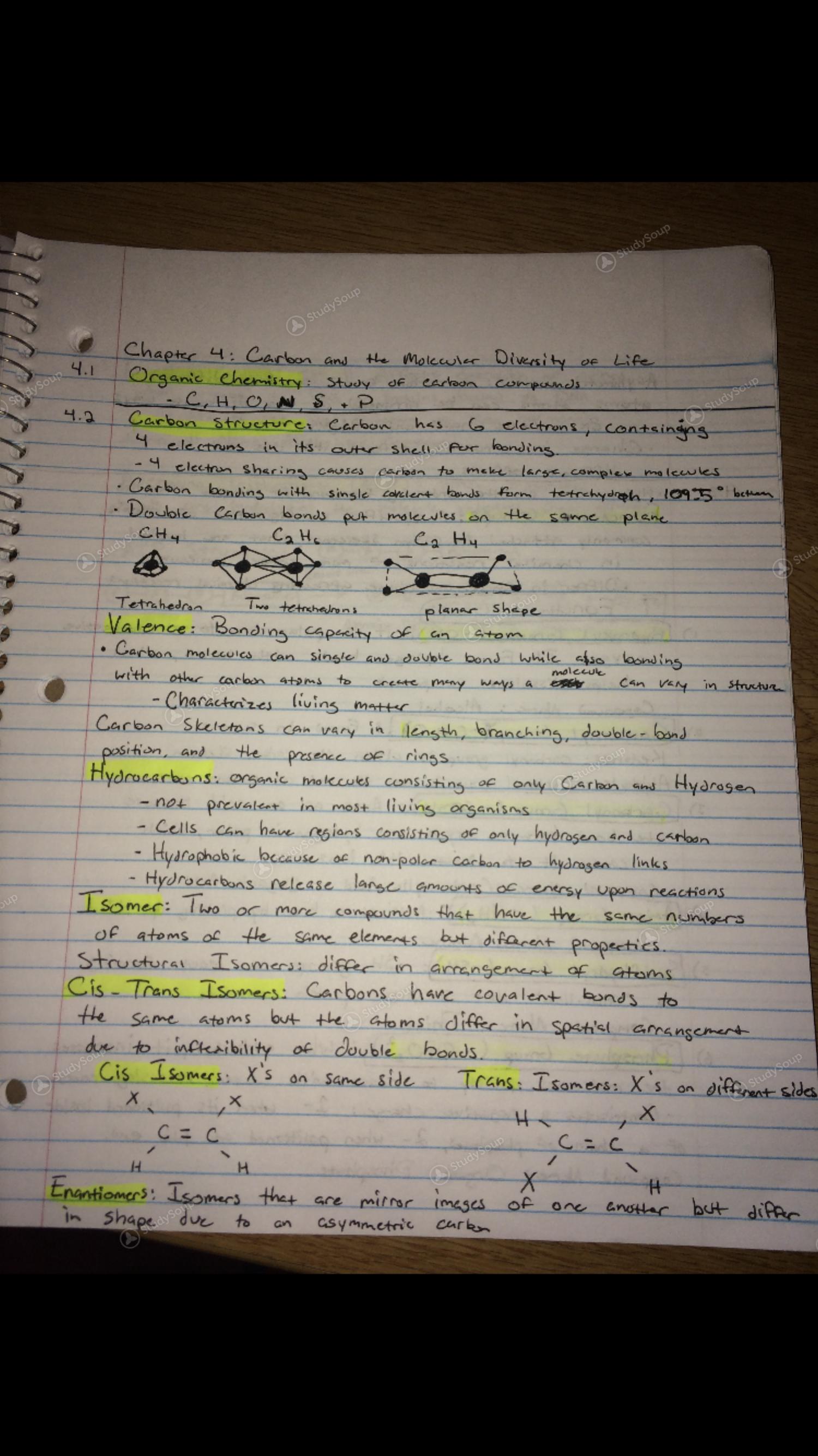 FSU - BSC 2010 - Spring 2018 - BSC 2010 - Class Notes   StudySoup